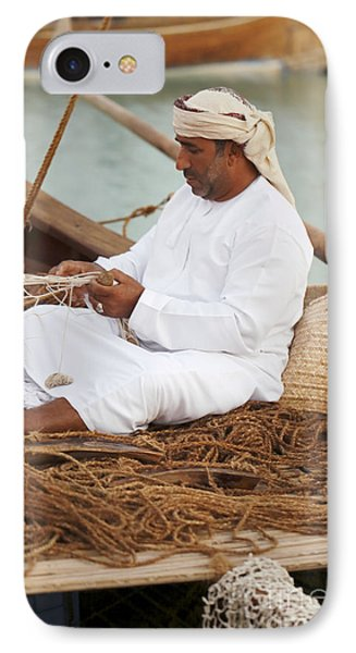 Omani Net-making Demonstration IPhone Case
