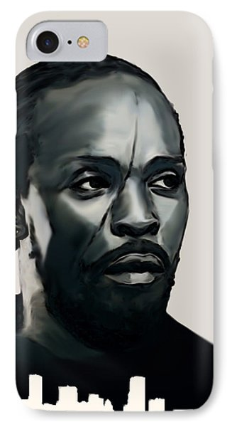 Omar Little IPhone Case by Jeff DOttavio