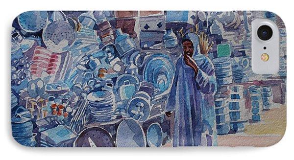 Omdurman Markit Phone Case by Mohamed Fadul