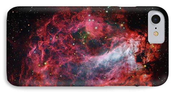 Omega Nebula IPhone Case by Robert Gendler