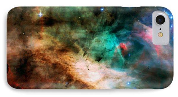 Omega Swan Nebula 2 IPhone Case by Jennifer Rondinelli Reilly - Fine Art Photography