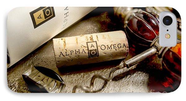 Omega Uncorked IPhone Case by Jon Neidert