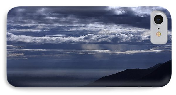 IPhone Case featuring the photograph Ominous Skies by Richard Stephen
