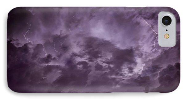 Ominous Sky IPhone Case by Donald Schwartz