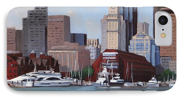 On A Clear Day IPhone Case by Laura Lee Zanghetti