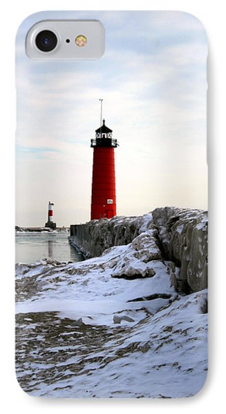 On A Cold Winter's Morning IPhone Case by Kay Novy