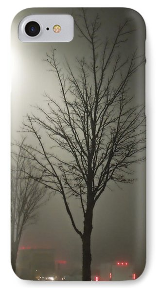 On A Foggy Night IPhone Case by Pete Trenholm