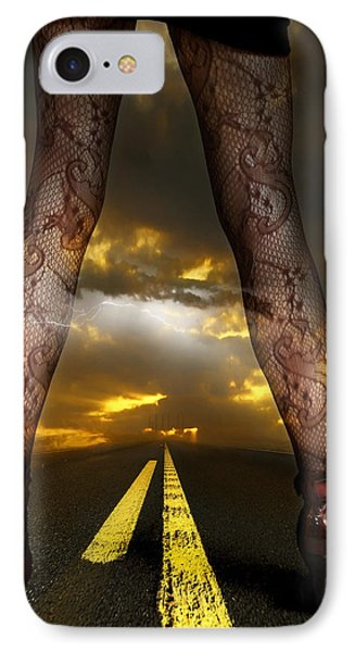 On A Road Phone Case by Svetlana Sewell