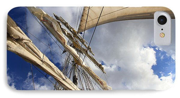 On A Sail Ship IPhone Case