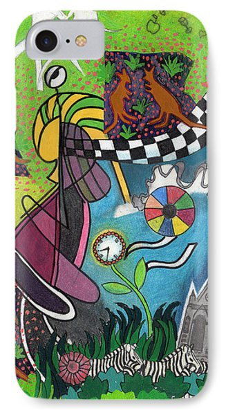On A Warm Summer Night Down Under IPhone Case by Genevieve Esson