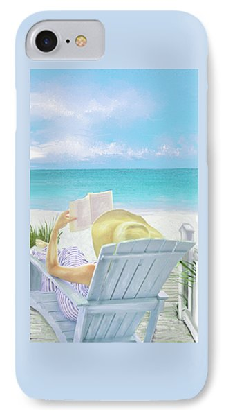 On Beach Time IPhone Case