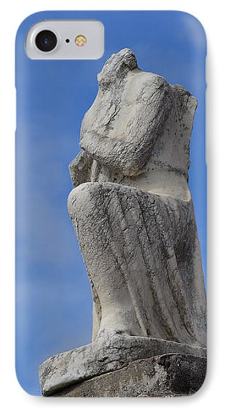 IPhone Case featuring the photograph On Bended Knee - Color by Nadalyn Larsen