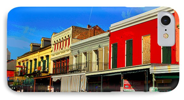 On Decatur Street Phone Case by Alys Caviness-Gober