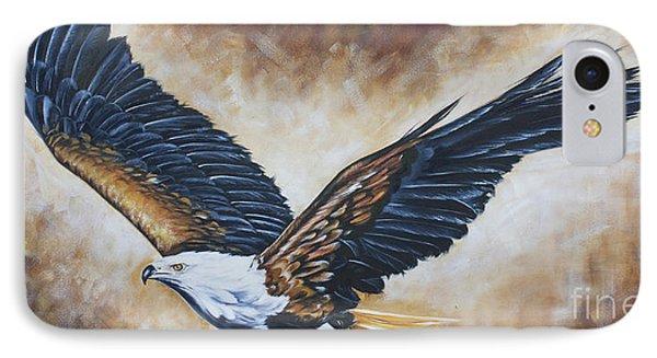 On Eagle's Wings Phone Case by Ilse Kleyn