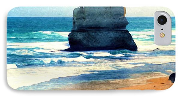On Gibson Beach IPhone Case by Dennis Lundell