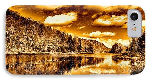 On Golden Pond Phone Case by David Patterson