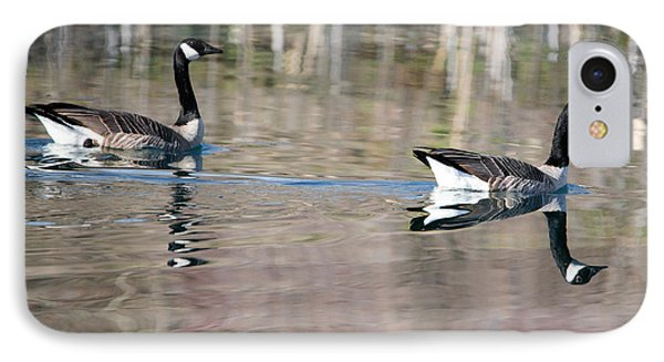 On Golden Pond IPhone Case by Mike Dawson