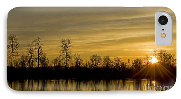 On Golden Pond IPhone Case by Nick  Boren