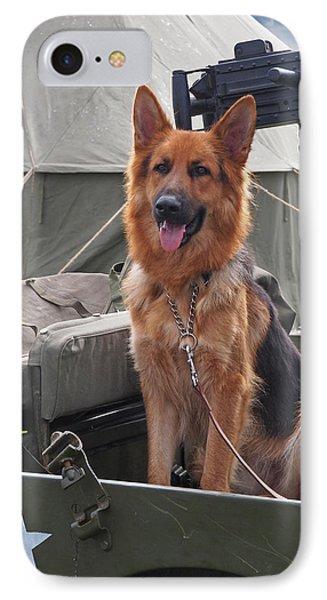 On Guard Duty IPhone Case by Gill Billington