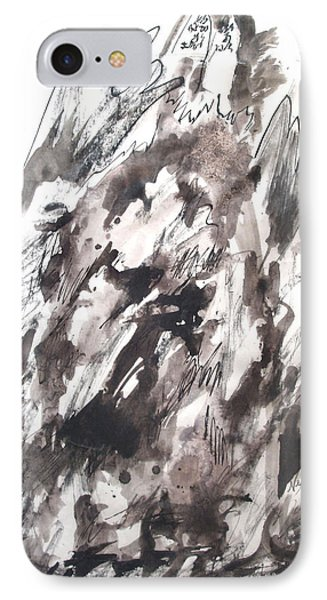 IPhone Case featuring the painting On Mount Sinai by Esther Newman-Cohen