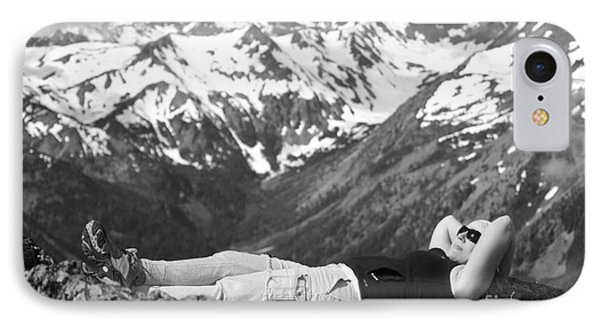 On Mountain Time... IPhone Case by Deena Otterstetter