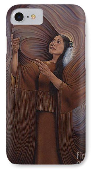 On Sacred Ground Series V Phone Case by Ricardo Chavez-Mendez