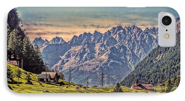 On The Alp IPhone Case by Hanny Heim