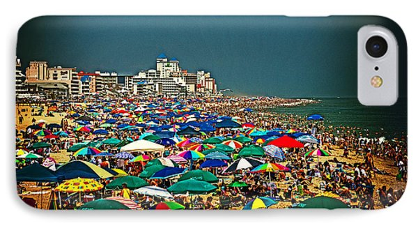 On The Beach In August IPhone Case by Bill Swartwout