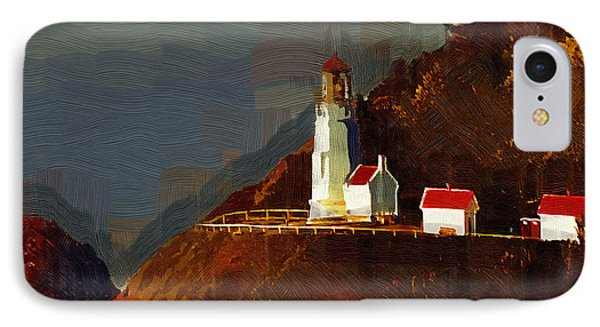 On The Bluff IPhone Case by Kirt Tisdale