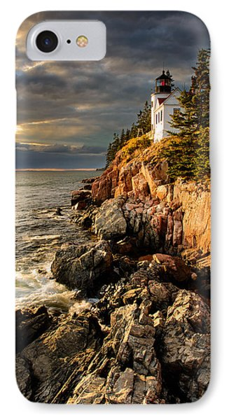 On The Bluff IPhone Case by Michael Blanchette