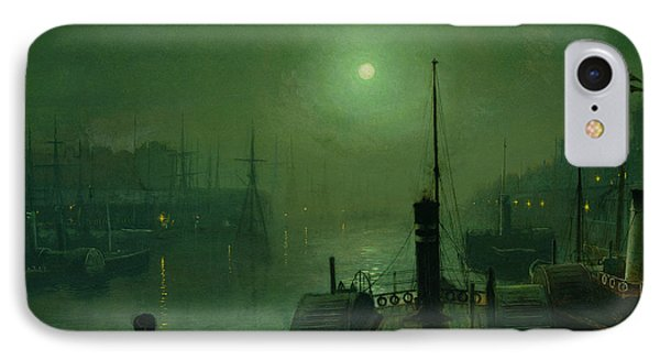 On The Clyde, Glasgow, 1879 IPhone Case