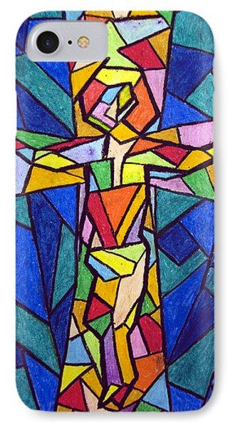 On The Cross Phone Case by Matthew Doronila