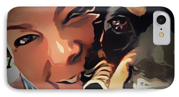 IPhone Case featuring the photograph On The Deck by Denise Tomasura