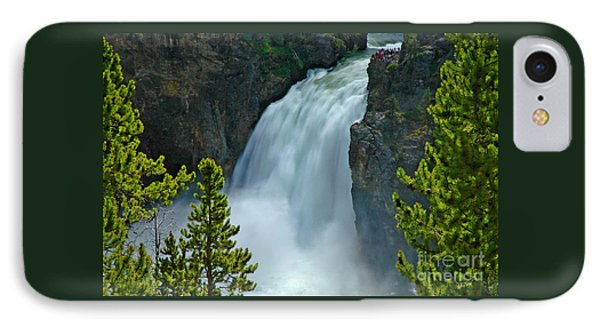 IPhone Case featuring the photograph On The Edge by Nick  Boren