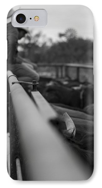 On The Fence IPhone Case by Amber Kresge