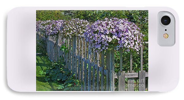 On The Fence Phone Case by Ann Horn