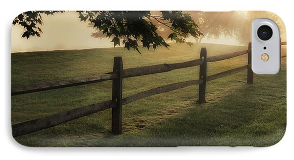 On The Fence Phone Case by Bill Wakeley