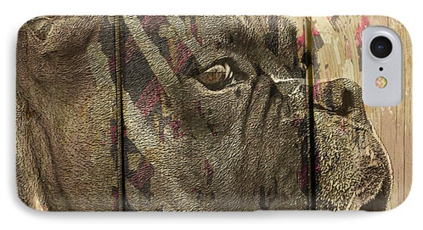 On The Fence IPhone Case by Judy Wood