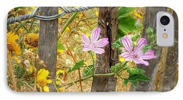 On The Fence Phone Case by Lainie Wrightson