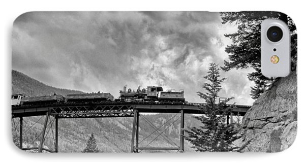 On The High Bridge IPhone Case by Shelly Gunderson