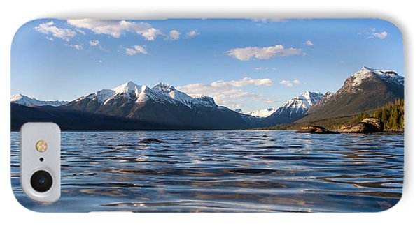 On The Lake IPhone Case by Aaron Aldrich