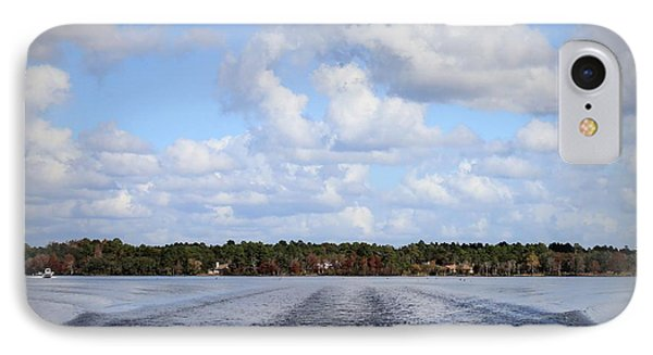 IPhone Case featuring the photograph On The Lake by Debra Forand