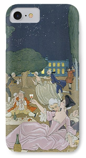 On The Lawn Phone Case by Georges Barbier