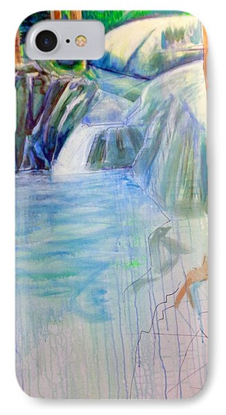 On The Middle Fork IPhone Case by Steven Holder