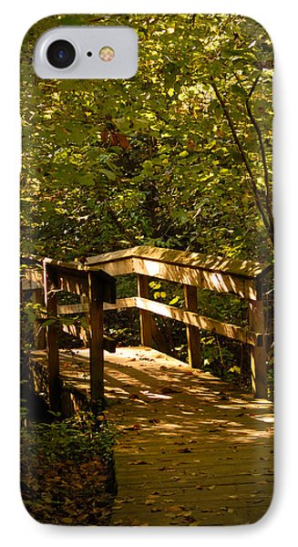 IPhone Case featuring the photograph On The Path by Lena Wilhite