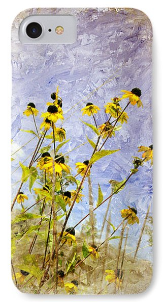 IPhone Case featuring the digital art On The Prairie by Davina Washington