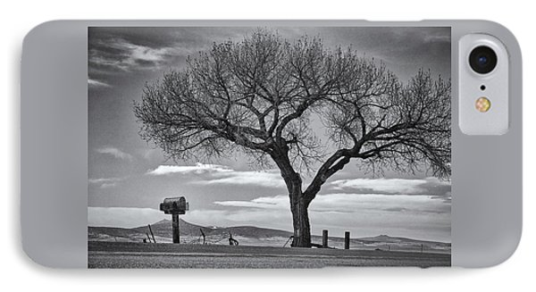 On The Road To Taos IPhone Case by Mary Lee Dereske