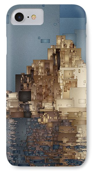 On The Rocks IPhone Case by David Hansen