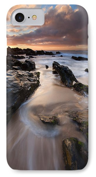 On The Rocks Phone Case by Mike  Dawson