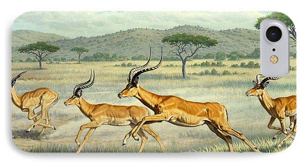 On The Run -  Impala Phone Case by Paul Krapf